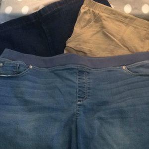 Pants - 3 pair shorts